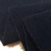 ニット 生地 リブニット  Vintage Foggy Dye 濃紺 55cmW幅 [JJ1494]
