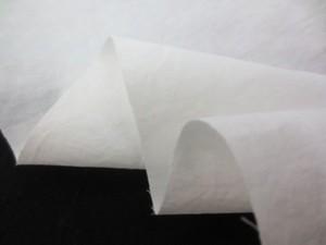 綿麻  生地 タイプライタークロス タンブラー加工 オフ白 148cm幅 [AS1122]