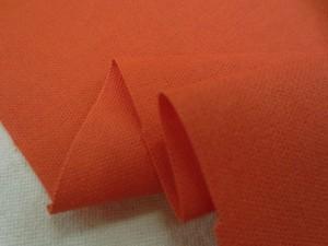 綿麻  生地 綿麻キャンバス オレンジ 110cm幅 [AS1127]