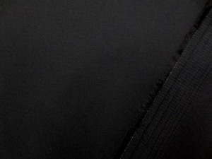 ストレッチ 生地 ツイルストレッチ 黒 133cm幅