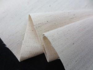 ストレッチ 生地 綿麻ストレッチ 生成 120cm幅 [ST523]