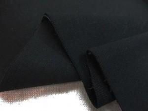 ストレッチ 生地 ツイルストレッチ 黒 123cm幅 [ST526]