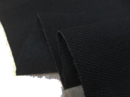 デニム 生地 13オンス セルビッチデニム 真っ黒 赤耳 83cm幅 [DE2241]