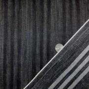 デニム 生地 10オンス トリプルラインデニム 黒 158cm幅 [DE2112]