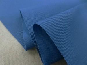 ツイル 生地 TCツイル 濃ブルー 150cm幅 [MU1125]
