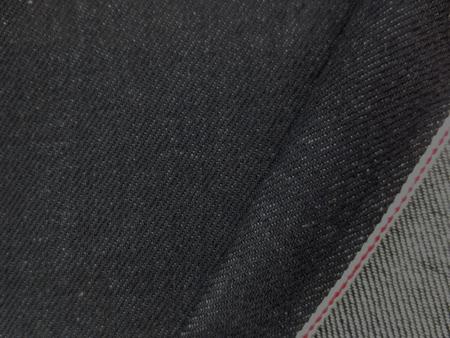 デニム 生地 12オンス セルビッチデニム 濃紺 赤耳 74cm幅 [DE1992]