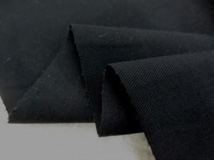 ストレッチ 生地 ツイルストレッチ 黒 134cm幅 [ST500]