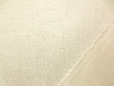 コットン 生地 シーティング 生成 150cm幅 [SK361]