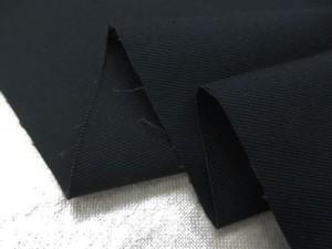 ストレッチ 生地 ツイルストレッチ 黒 138cm幅 [ST532]