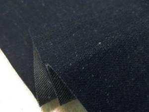 デニム 生地 9オンス ネップデニム 紺 150cm幅 [DE2266]