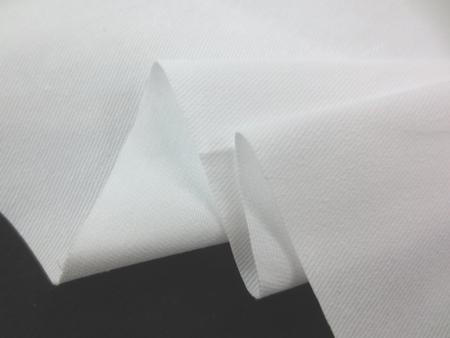 ツイル 生地 コットンツイル 白 110cm幅 [MU959]