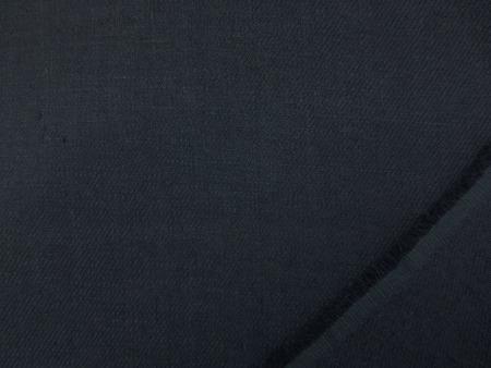 リネン 生地 ALCHEMIC LINEN 濃紺 130cm幅 [AS1154]