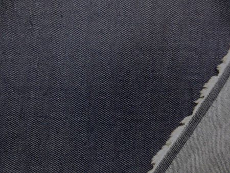 デニム 生地 6オンス ライトオンスデニム 濃紺 142cm幅 [DE2115]