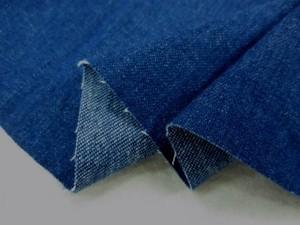 デニム 生地 10オンスデニム フェイド  洗い加工 148cm幅 [DE2008]