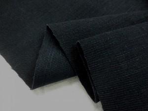 デニム 生地 7オンス ブラックデニム 150cm幅 [DE2010]