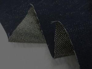 デニム 生地 13オンス ゴールドデニム 濃紺 153m幅 [DE2291]