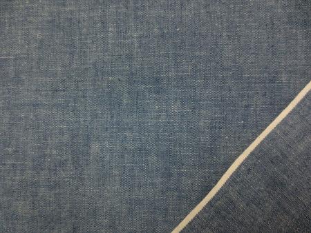 ダンガリー 生地 コットンダンガリー ネイビー 108m幅 [DE2296]