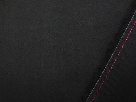 ボイル 生地  コットンボイル 黒 145cm幅 [MU1128]