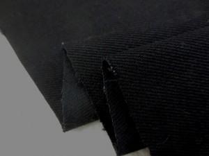 デニム 生地 12オンス ストレッチ ブラックデニム 140cm幅 [DE2126]