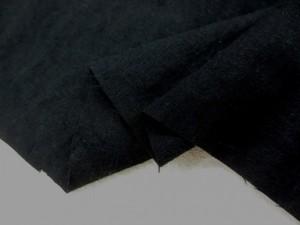 綿麻 生地 綿麻シーティング エアタンブラー ワッシャー NEW BLACK [AS1049]