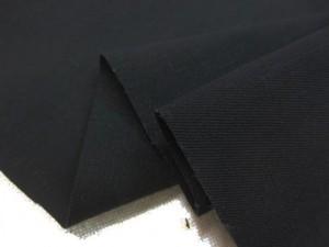 デニム 生地 ストレッチデニム 6オンス スーピマキュプラストレッチ  黒 123m幅 [DE2298]
