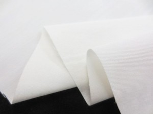デニム 生地 ストレッチデニム 6オンス スーピマキュプラストレッチ  オフ白 110m幅 [DE2299]