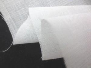 リネン 生地 薄手リネン 白 112cm幅 [AS1082]