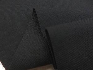 帆布 キャンバス 生地 11号帆布 クレンゼ加工 黒 110cm幅 [MU1133]