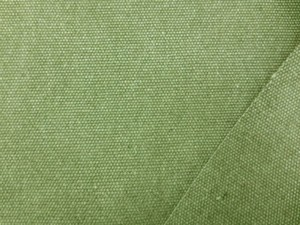 帆布 キャンバス 生地 ヴィンテージカラー帆布 ライトグリーン 110cm幅 [MU1138]