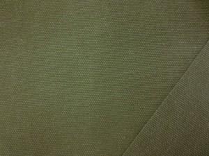 帆布 キャンバス 生地 ヴィンテージカラー帆布 モスグリーン 110cm幅 [MU1139]
