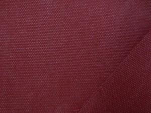 帆布 キャンバス 生地 ヴィンテージカラー帆布 ダークレッド 110cm幅 [MU1141]