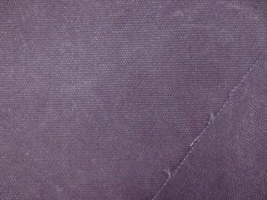 帆布 キャンバス 生地 ヴィンテージカラー帆布 ダークパープル 110cm幅 [MU1142]