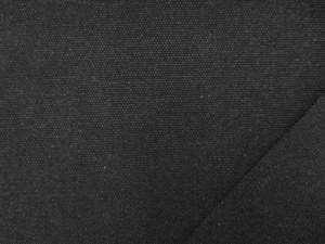 帆布 キャンバス 生地 ヴィンテージカラー帆布 墨黒 110cm幅 [MU1145]