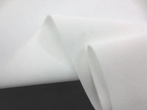 ポリエステル 生地 トリプルマット 白 150cm幅 [SK368]