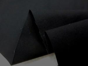撥水 生地 タイプライタークロス 撥水加工 黒 144cm幅 [MU1034]