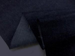 デニム 生地 6オンス ライトオンスデニム 濃紺 145cm幅 [DE2131]