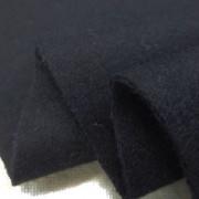 ウール 生地 ウールフラノ 濃紺 132cm幅 [WO1231]