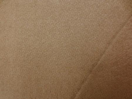 ウール 生地 ウールフラノ キャメル 132cm幅 [WO1232]