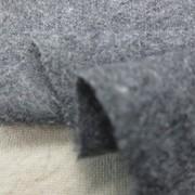 ウール 生地 ウールサキソニーフラノ 杢グレイ 150cm幅 [WO1236]