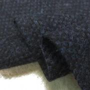 ウール 生地 ウール 変わり織 ネイビーブラック 150cm幅 [WO1237]