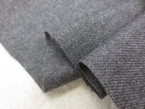 ウール 生地 綾織り薄手ウール 杢グレイ 140cm幅 [WO1241]