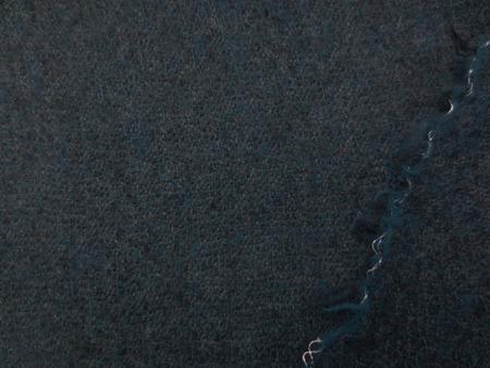 ウール 生地 ウールガーゼ ミックスダークブルー 143cm幅 [WO1242]