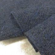 ウール 生地 ウールガーゼ ミックスネイビー 135cm幅 [WO1243]