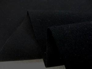 ストレッチ 生地 バーバリーストレッチ 黒 135cm幅 [ST514]