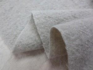 ウール 生地 綾織 ベージュ 洗い加工 138cm幅 [WO1123]