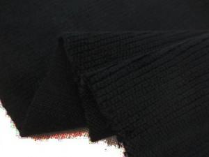 コール天 生地 コードレスコード 黒 108cm幅 [KO943]