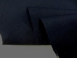 コットン 生地 ツイル 濃紺 ソフト 150cm幅 [MU1040]