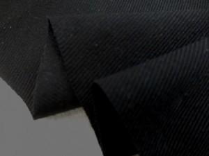 デニム 生地 8オンス ブラックデニム クラボウ 真っ黒 145cm幅 [DE2142]