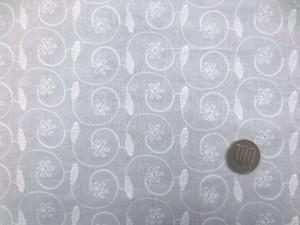 レース 生地 ローンレース エンブロイダリーレース 白 1 145cm巾 [LA476]