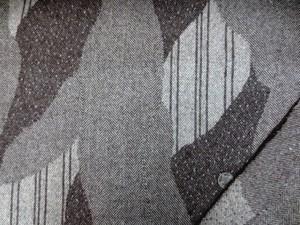 ウール 生地 ウール パッチワーク ヘリンボーン 濃ブラウン 152cm幅 [WO1193]